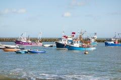 Folkestone harbour, Kent, UK Stock Photo