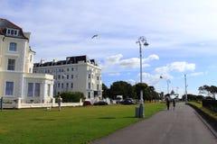 Folkestone Leas Kent Wielki Brytania Fotografia Royalty Free