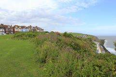 Folkestone nadbrzeże Kent Wielki Brytania obrazy stock