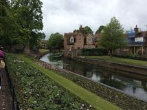Folkestone. Rainy afternoon in Folkestone, England Royalty Free Stock Image