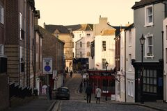Folkestone town centre Royalty Free Stock Photography