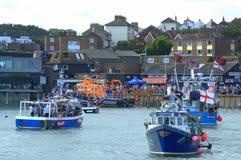 Folkestone Trawler Race England stock images