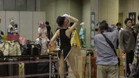 Folket deltar i det Tokyo drömpartiet, en anime- och Manga Cosplay regel lager videofilmer