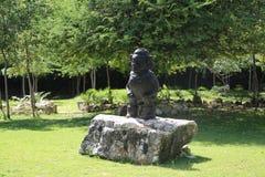 Folket för E TaÃno var bland urbefolkningen av det karibiskt Royaltyfria Foton