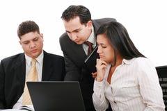 folket för affärskontor team att fungera Arkivbild