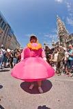 Folket firar Christopheren Royaltyfri Foto
