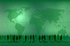 folket teams världen Arkivfoto