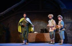 "Folkets Armé-Peking opera som ""Taking Tiger Montain By Strategyâ € Royaltyfri Bild"