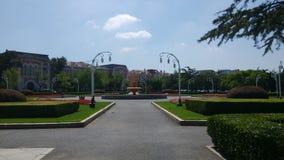 Folkets den fyrkantiga gataträdgården Royaltyfria Foton