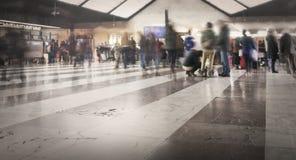 folkjärnvägstation Royaltyfri Foto