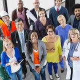 Folkkarriärockupation Job Team Corporate Concept royaltyfri foto
