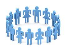 folklag för logo 3d Arkivbild