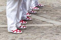 Folklorów buty Obraz Royalty Free