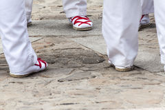 Folklorów buty Zdjęcia Stock