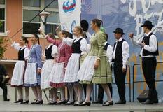 Folklor bez granic 2016 Obrazy Stock