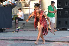 Folklorama en Winnipeg Imagenes de archivo