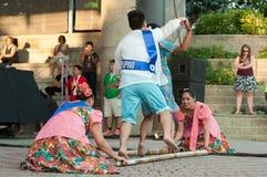 Folklorama mångkulturell festival i Winnipeg arkivfoto