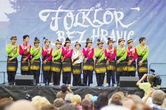 Folklore without borders 2016 Stock Photo