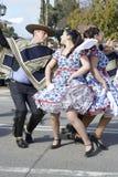 Folklore chilien traditionnel Image libre de droits