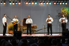 Folklore concert Stock Images