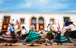 Folklore dance in Ibiza Spain Europe