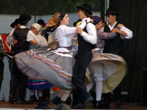 Folklore dans l'Algarve Photo stock
