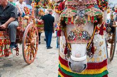 Folklore de la Sicile Image stock