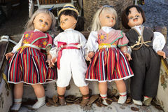 Folklore dolls on Madeira island, Portugal Stock Photos