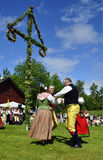 Folklore ensemble of Sweden Stock Images
