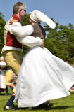 Folklore ensemble of Sweden Royalty Free Stock Photography