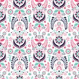 Ornament. Pattern. Folklore floral ornament. Seamless pattern Royalty Free Stock Photos