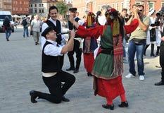 Folklore griego imagen de archivo libre de regalías