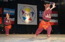 Folklore indonésien Images libres de droits
