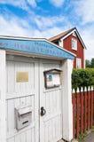 Folklore och maritimt museum Oregrund Sverige royaltyfria foton