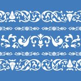 Folklore ornament pattern Stock Image