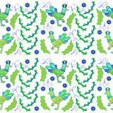 Folklore pattern Stock Images