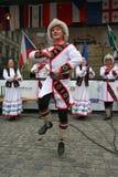 folklore prague för festival fair2 Royaltyfria Bilder