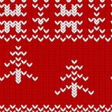 Folklore seamless background. Christmas motives Royalty Free Stock Photography