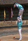 Folklore show, Suwon, Korean Republic Royalty Free Stock Images