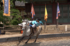 Folklore show, Suwon, Korean Republic Stock Image