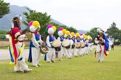 Folklore sud-coréen photographie stock