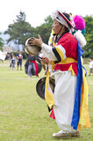 Folklore surcoreano imagen de archivo