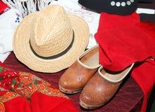 Folklore tradicional de Miño Fotografía de archivo