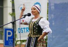 Folklore utan gränser 2016 Royaltyfria Foton