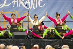 Folklore utan gränser 2016 Arkivbild