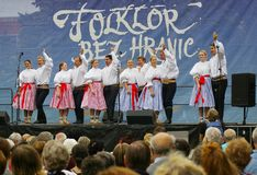 Folklore zonder grenzen 2016 royalty-vrije stock afbeeldingen