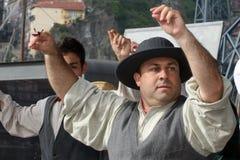 Folkloredansers stock foto