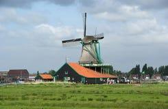 Folkloredorf Zaanse Shans, Holland Stockfotografie