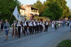 Folklorefestival Lukavac 2016 des International 10 Lizenzfreies Stockbild