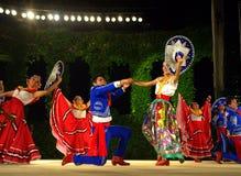 Folklorefestivaldans Arkivfoton